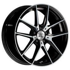 1000 Miglia MM041 6.5x16/5x112 D57.1 ЕТ42 Black Polished