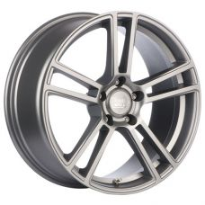 1000 Miglia MM1002 8x18/5x112 D66.6 ЕТ45 Matt Silver Polished