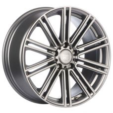 1000 Miglia MM1005 8.5x19/5x114.3 D67.1 ЕТ42 Dark Anthracite Polished