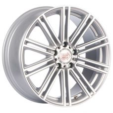1000 Miglia MM1005 8x18/5x112 D66.6 ЕТ45 Matt Silver Polished