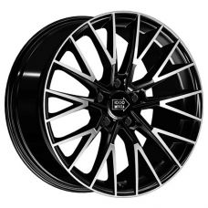 1000 Miglia MM1009 8x18/5x120 D72.6 ЕТ42 Gloss Black Polished
