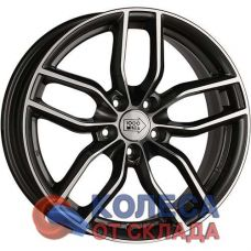 1000 Miglia MM1011 7x16/5x114.3 D67.1 ЕТ42 Dark Anthracite High Gloss