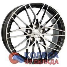 1000 Miglia MM1015 8x18/5x108 D63.3 ЕТ45 Gloss Black Polished