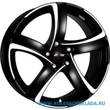 Alutec Shark 7x16/5x114.3 D70.1 ЕТ38 Racing Black Front Polished