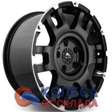 Buffalo BW-004 8.5x17/5x127 D78.1 ЕТ25 Gloss Black Machined Face