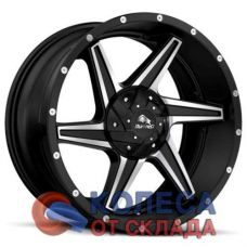 Buffalo BW-011 9x20/5x150 D110.1 ЕТ38 Satin Black Machined