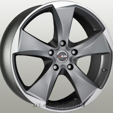 MAK Raptor 5 9.5x20/5x120 D72.6 ЕТ20 Graphite Mirror Face