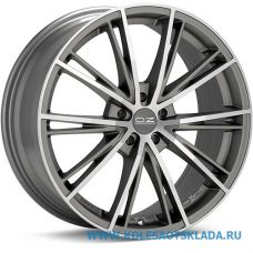 OZ Racing ENVY 7.5x17/5x100 D68 ЕТ35 Matt Silver Tech Diamond Cut