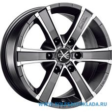 OZ Racing SAHARA 6 8x17/6x139.7 D67.1 ЕТ35 Matt Graphite Diamond Cut