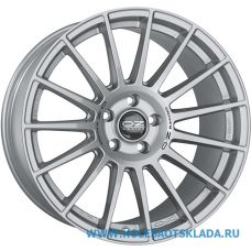 OZ Racing SUPERTURISMO DAKAR 10x20/5x120 D79 ЕТ19 Matt Race Silver Black Lettering
