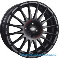 OZ Racing SUPERTURISMO GT 7x17/5x100 D68 ЕТ38 Matt Black Red Lettering