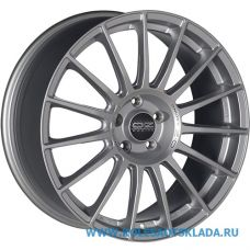 OZ Racing SUPERTURISMO LM 7.5x17/5x108 D75.1 ЕТ40 Matt Race Silver Black Lettering
