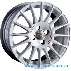 OZ Racing SUPERTURISMO WRC 7x17/5x114.3 D75.1 ЕТ45 White Red Lettering