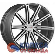 Vissol V-004 10.5x20/5x112 D66.6 ЕТ30 Matte Graphite Machined