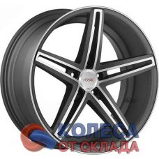 Vissol V-015 9x20/5x112 D66.6 ЕТ25 Matte Graphite Machined