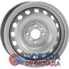 ГАЗ ВАЗ 2108 5x13/4x98 D60,5 ЕТ35 Серебристый