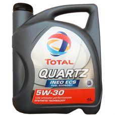 Масло моторное Total Quartz Ineo ECS 5W30 4л (art.151510)
