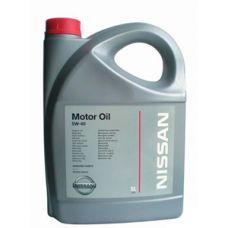 Масло моторное NISSAN Motor Oil 5W40 5л (art.KE90090042)
