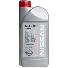 Масло моторное Nissan Motor Oil 5W40 1л (art.KE90090032)