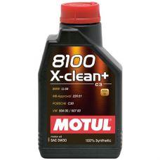 Масло моторное Motul 8100 X-clean Plus 5W30 1л