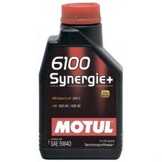 Масло моторное Motul 6100 SYN-nergy (Synergie+) 5W40 1л
